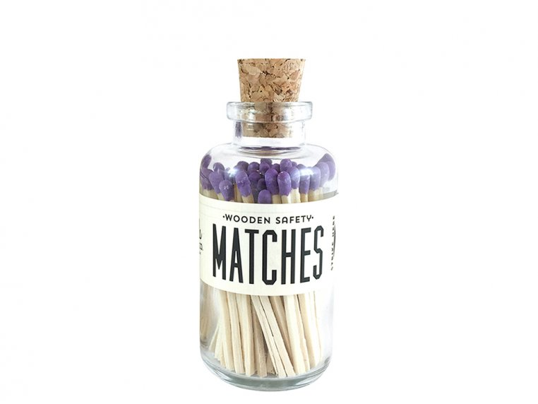 Vintage Apothecary Color-Tip Matches by Made Market Co. - 40