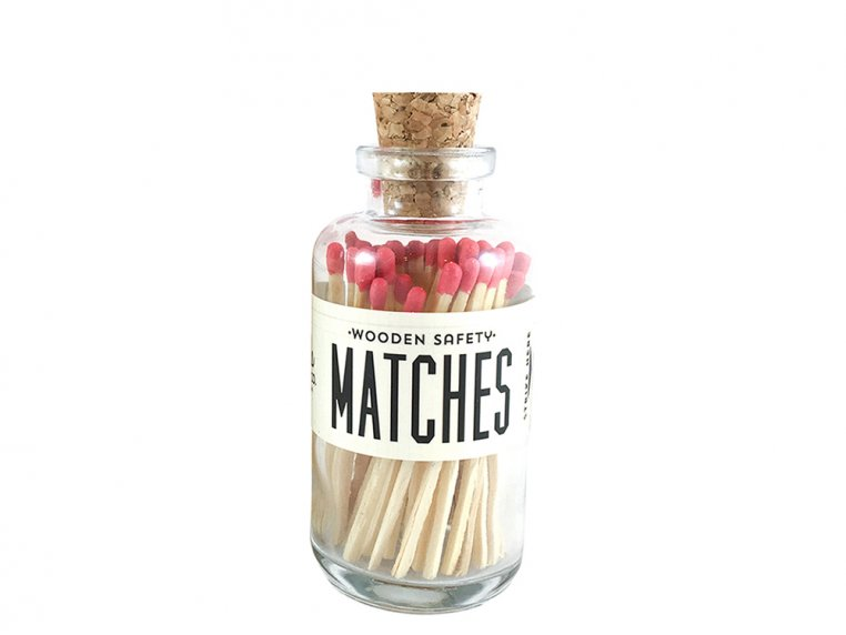 Vintage Apothecary Color-Tip Matches by Made Market Co. - 42