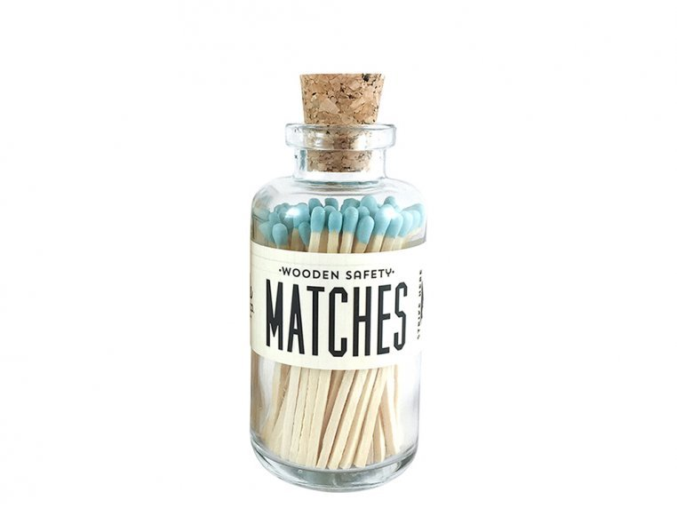 Vintage Apothecary Color-Tip Matches by Made Market Co. - 44