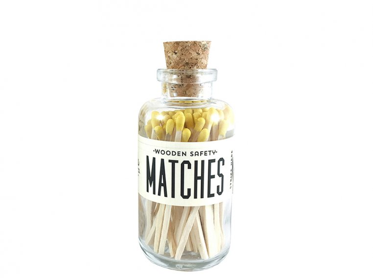 Vintage Apothecary Color-Tip Matches by Made Market Co. - 46