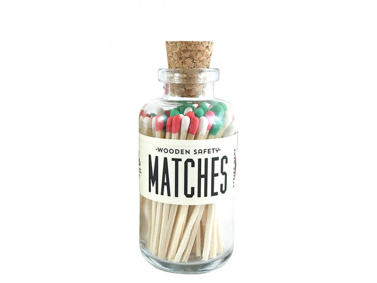 Vintage Apothecary Color-Tip Matches by Made Market Co. - 48