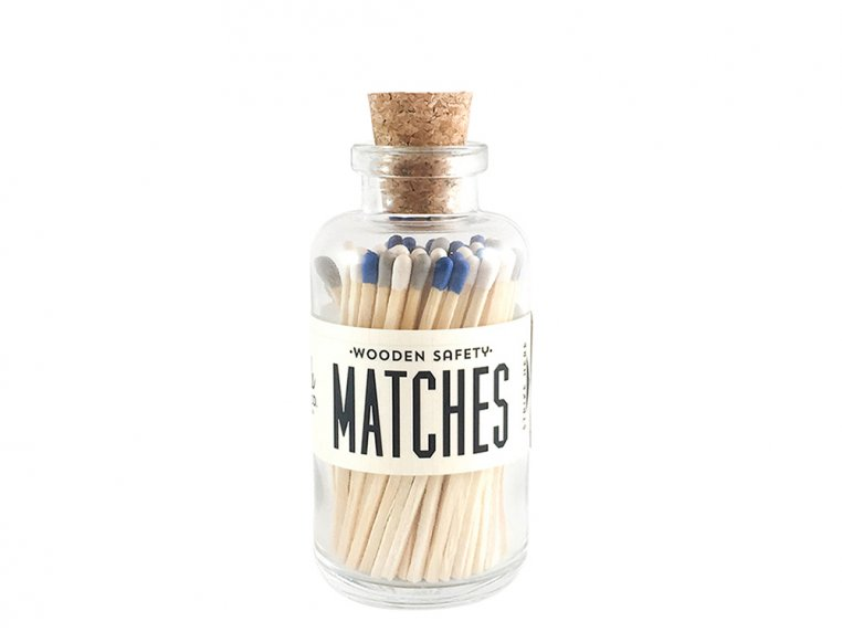 Vintage Apothecary Color-Tip Matches by Made Market Co. - 50