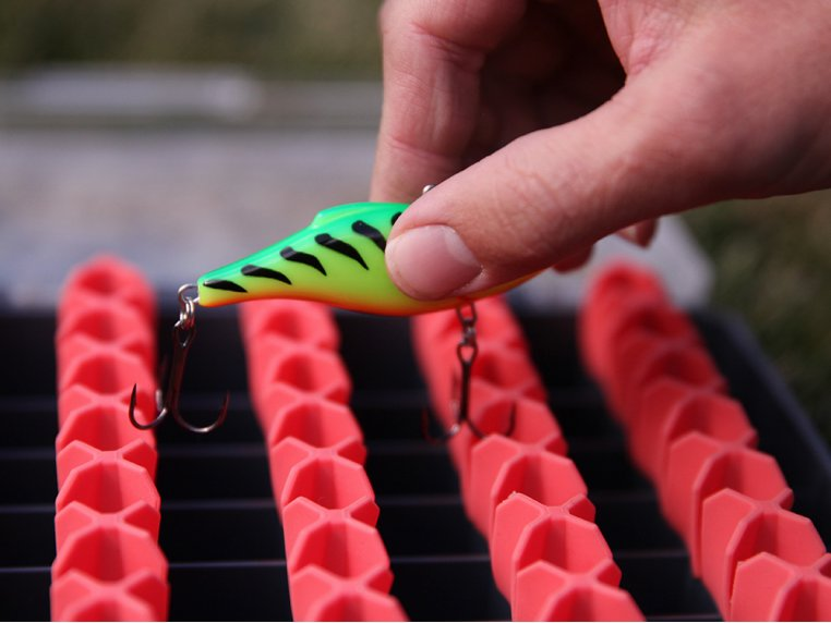 Silicone Hard Bait Organizer by Gruv Fishing - 2