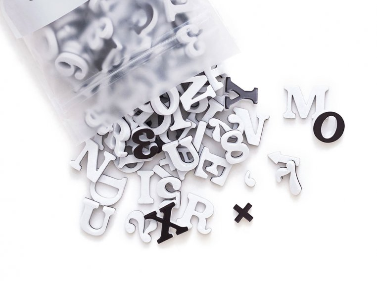 Modern Magnetic Letters by The Type Set Co. - 6
