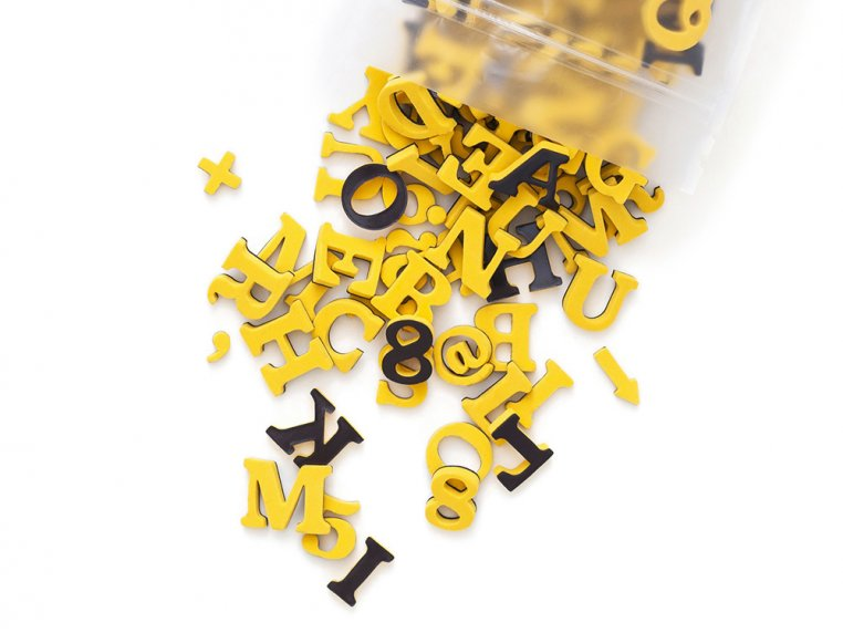 Modern Magnetic Letters by The Type Set Co. - 10