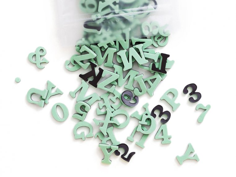 Modern Magnetic Letters by The Type Set Co. - 11