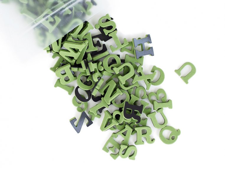 Modern Magnetic Letters by The Type Set Co. - 12