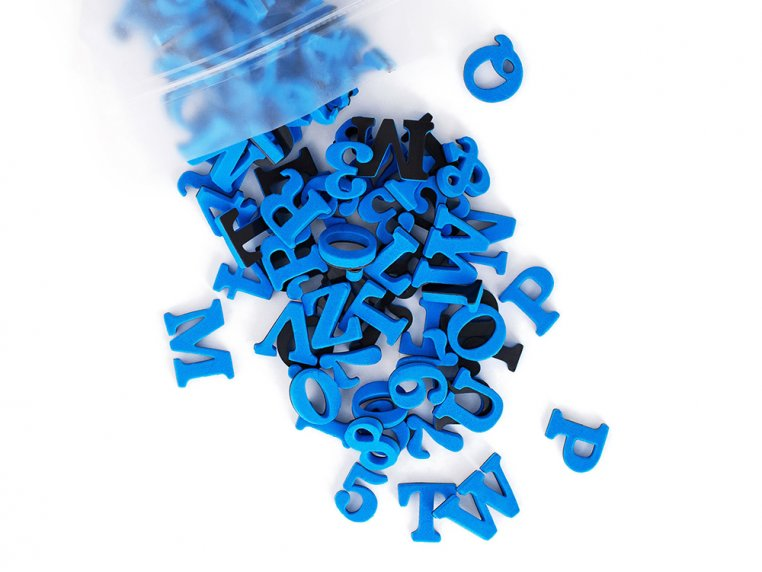 Modern Magnetic Letters by The Type Set Co. - 14