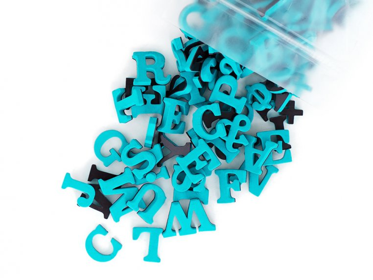 Modern Magnetic Letters by The Type Set Co. - 16