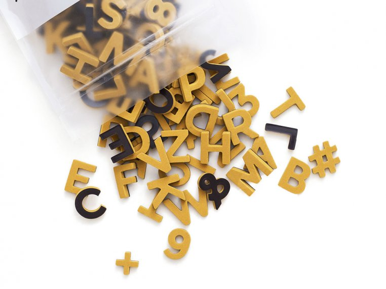 Modern Magnetic Letters by The Type Set Co. - 21