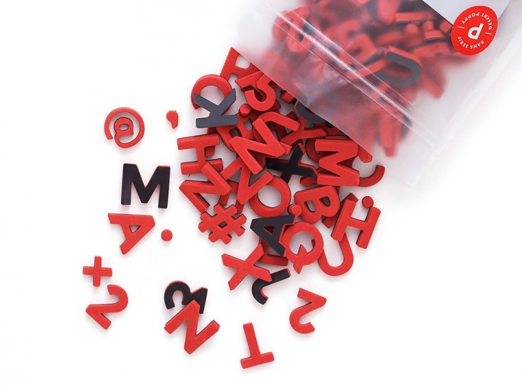 Modern Magnetic Letters by The Type Set Co. - 22