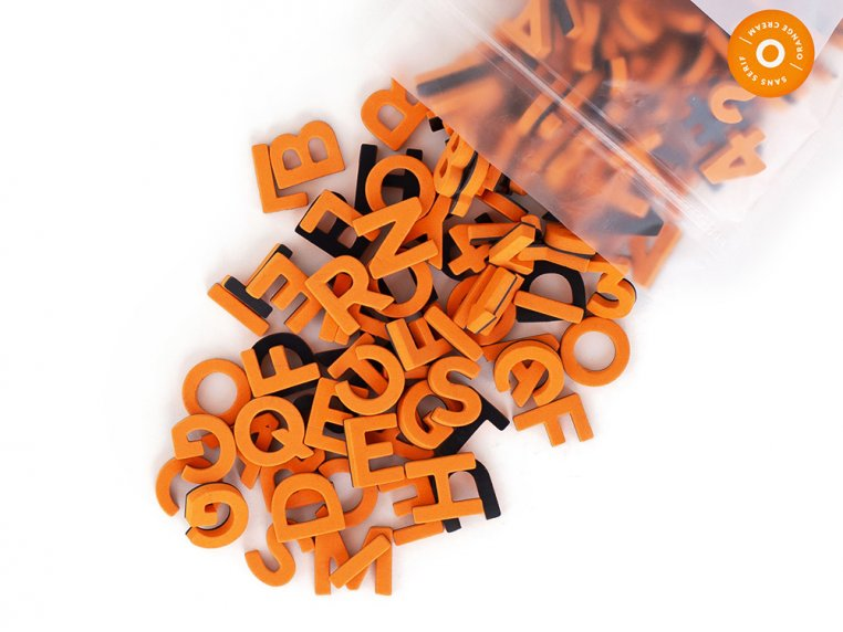 Modern Magnetic Letters by The Type Set Co. - 23