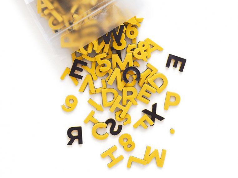 Modern Magnetic Letters by The Type Set Co. - 24