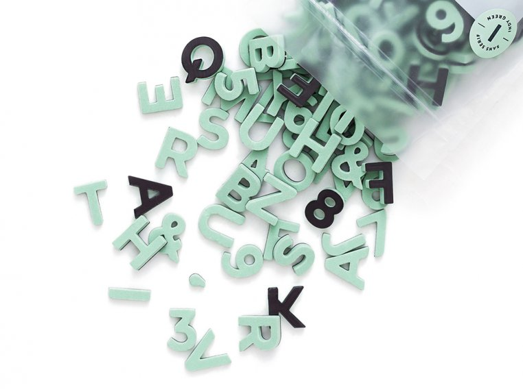 Modern Magnetic Letters by The Type Set Co. - 25