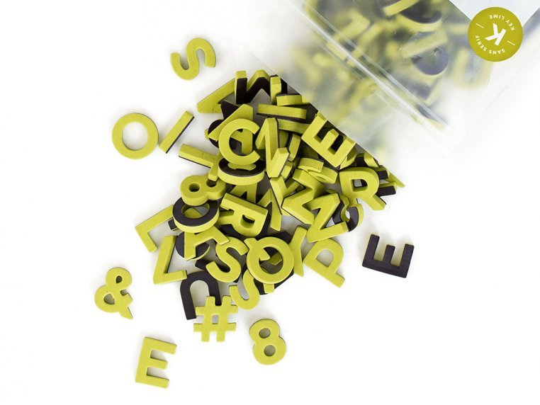 Modern Magnetic Letters by The Type Set Co. - 27