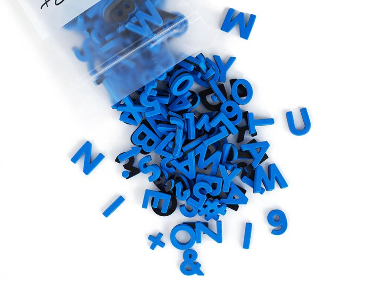 Modern Magnetic Letters by The Type Set Co. - 28