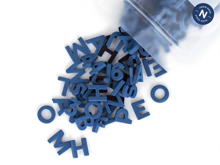 Modern Magnetic Letters by The Type Set Co. - 29