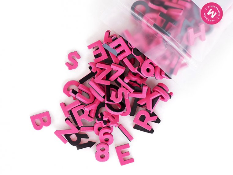 Modern Magnetic Letters by The Type Set Co. - 30