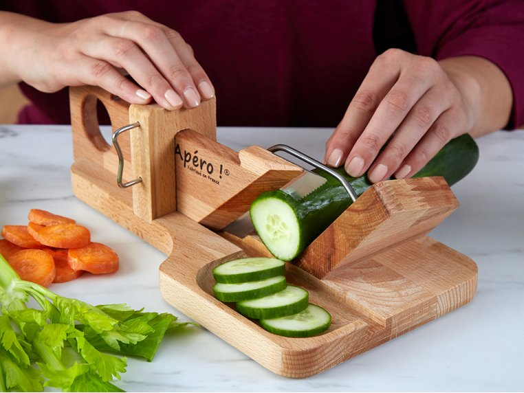 Handcrafted Sausage & Cheese Slicer by So Apéro - 2