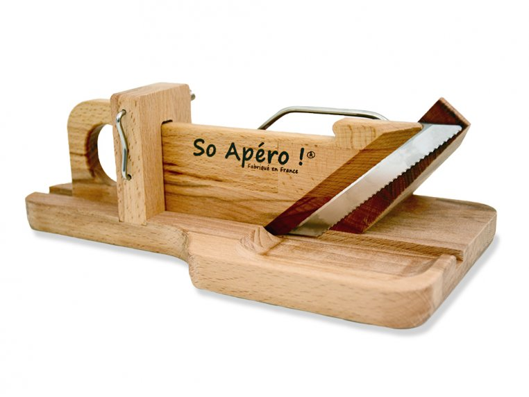 Handcrafted Sausage & Cheese Slicer by So Apéro - 5