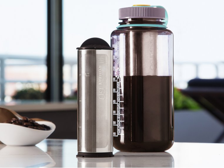 Universal Cold Brew Coffee Filter by Rumble Go - 1