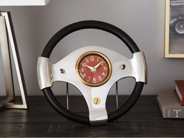 Speedster Table Clock by Pendulux - 1