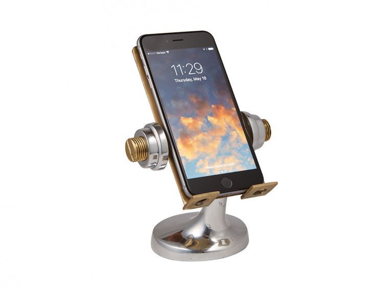 Nostalgic Metal Phone Stand by Pendulux - 3