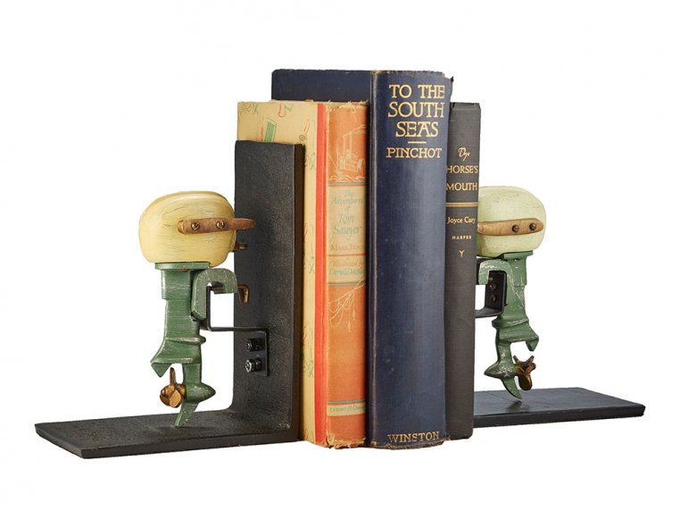 Nostalgic Charm Bookends by Pendulux - 10