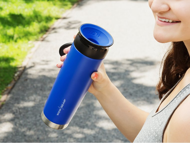 360º Stainless Steel Water Bottle by WOW GEAR - 1