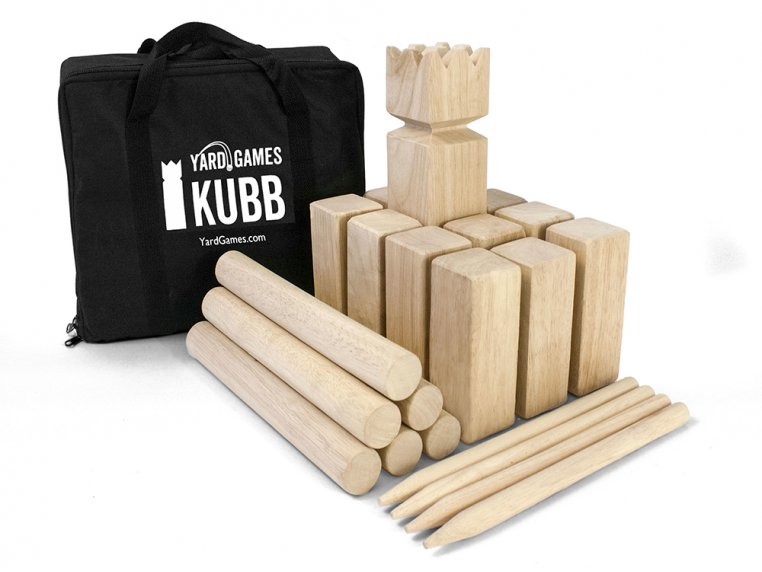 Personalized Premium Kubb Game Set by Yard Games - 3