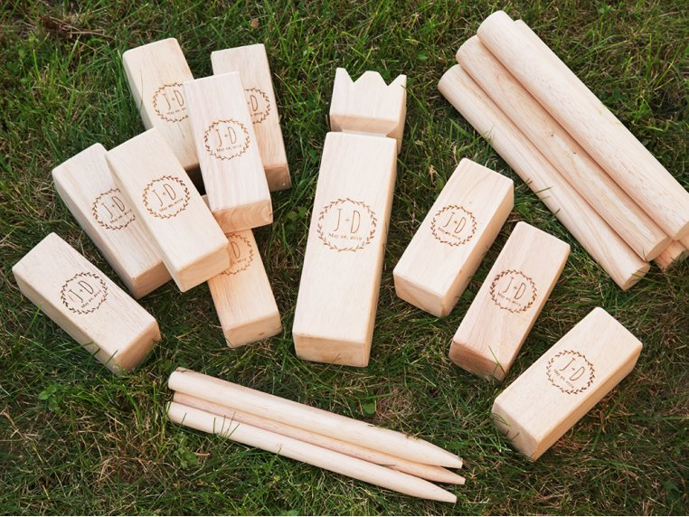 Personalized Premium Kubb Game Set by Yard Games - 1