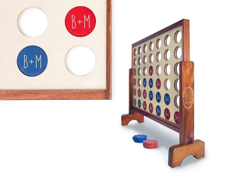 Personalized Giant 4 Connect in a Row by Yard Games - 8