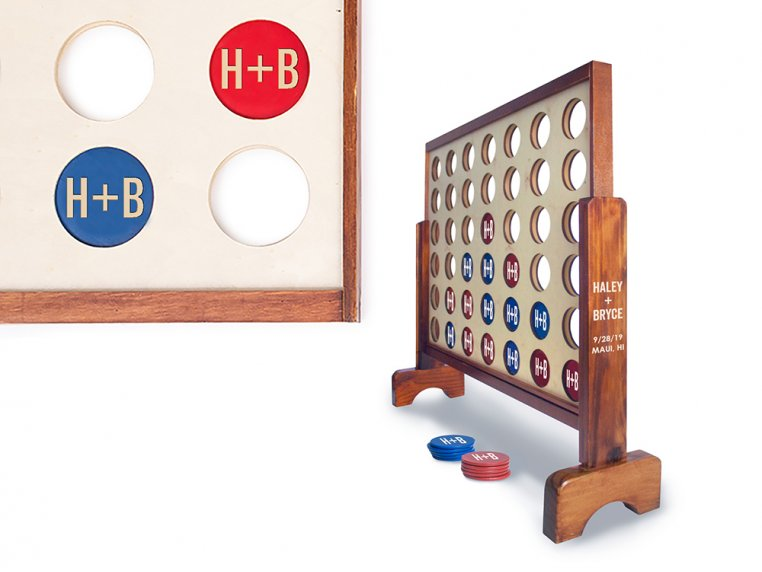 Personalized Giant 4 Connect in a Row by Yard Games - 11