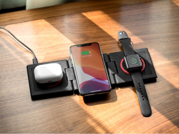 Unravel AW+ 3-Panel Wireless Charging Pad by Ampere - 2