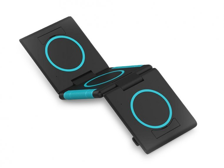 Unravel 3-Panel Wireless Charging Pad by Ampere - 6