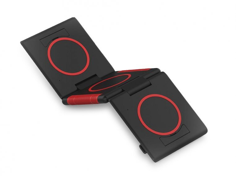 Unravel 3-Panel Wireless Charging Pad by Ampere - 7