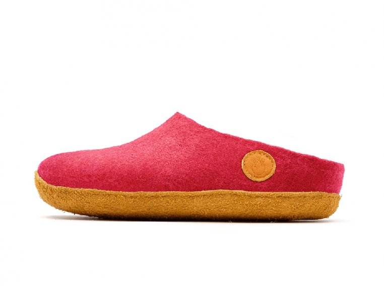 Women's Wool Felt Slippers by NAUSENI - 7