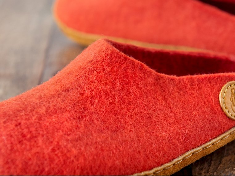 Women's Wool Felt Slippers by NAUSENI - 4