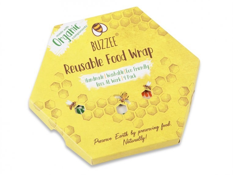 Eco-Friendly Food Wrap - Multipack by Buzzee Wraps - 5