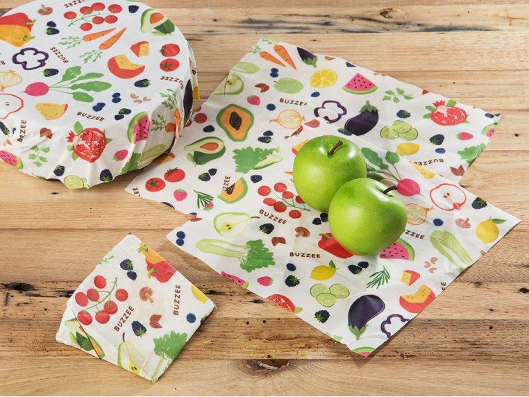 Eco-Friendly Food Wrap - Multipack by Buzzee Wraps - 1