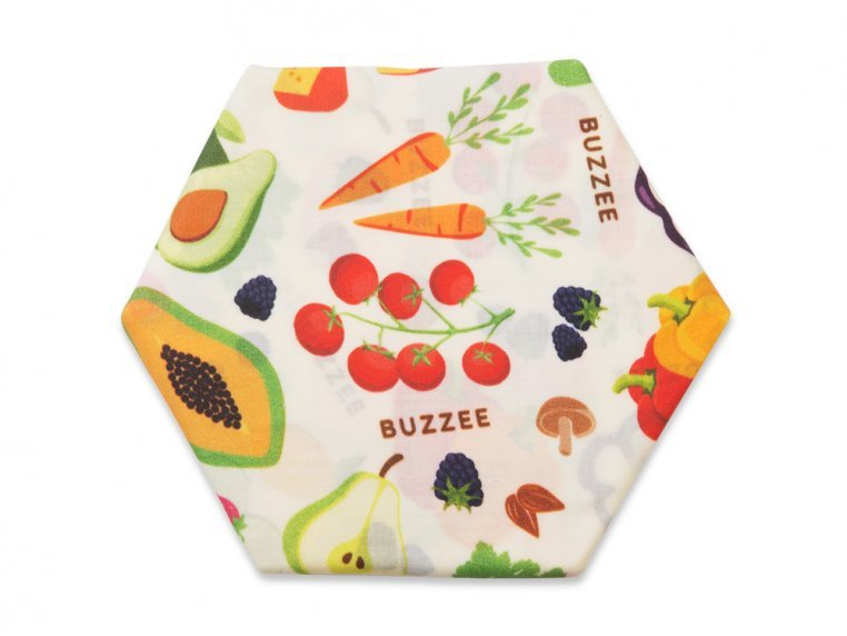 Eco-Friendly Food Wrap - Multipack by Buzzee Wraps - 6