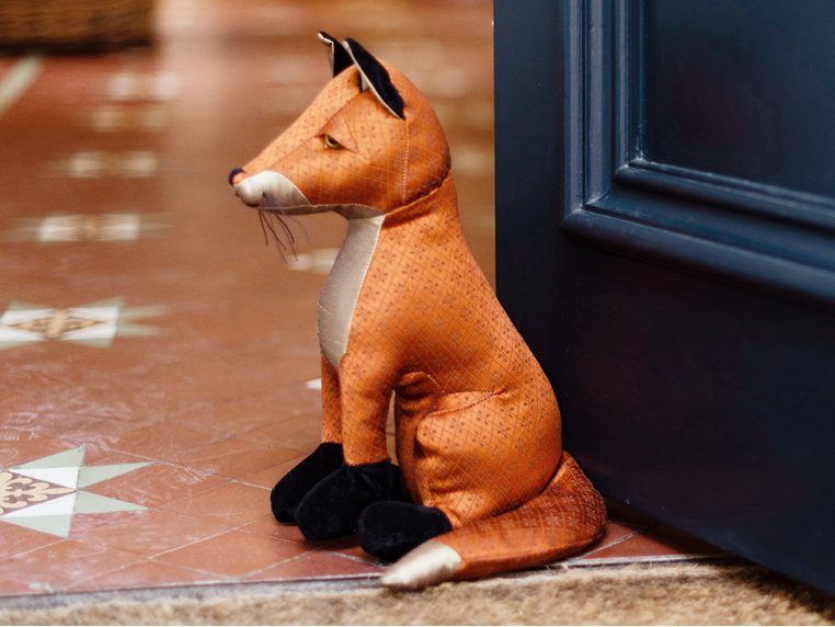 Whimsical Animal Doorstop by Dora Designs - 5