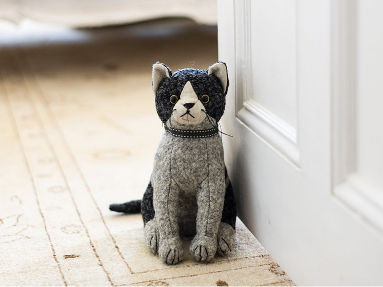 Whimsical Animal Doorstop by Dora Designs - 2