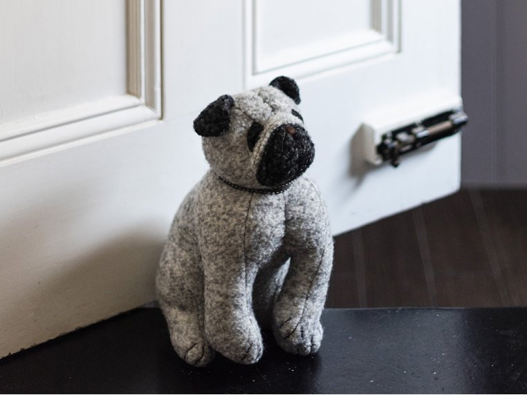 Whimsical Animal Doorstop by Dora Designs - 6