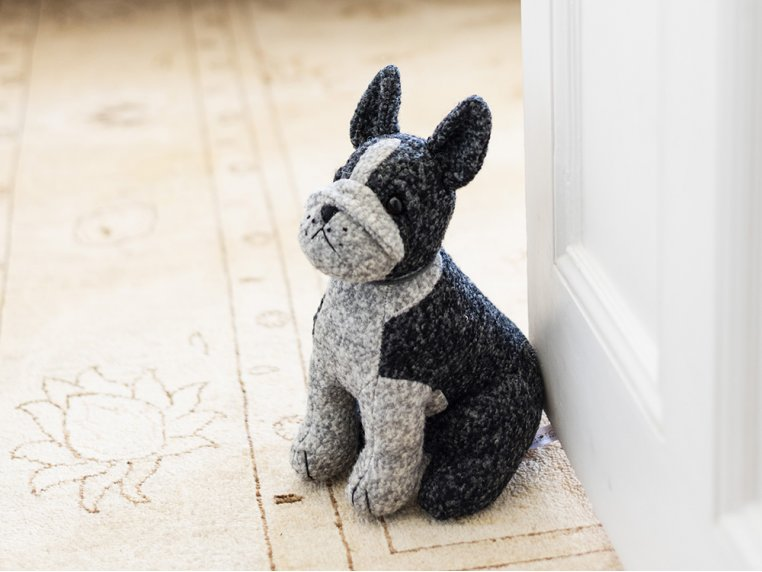 Whimsical Animal Doorstop by Dora Designs - 7