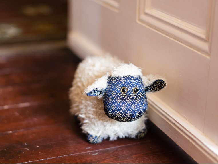Whimsical Animal Doorstop by Dora Designs - 8