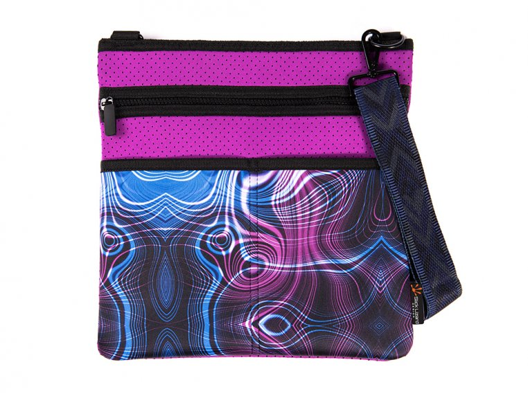 Pancake Crossbody Bag by Slick Lizard Design - 9