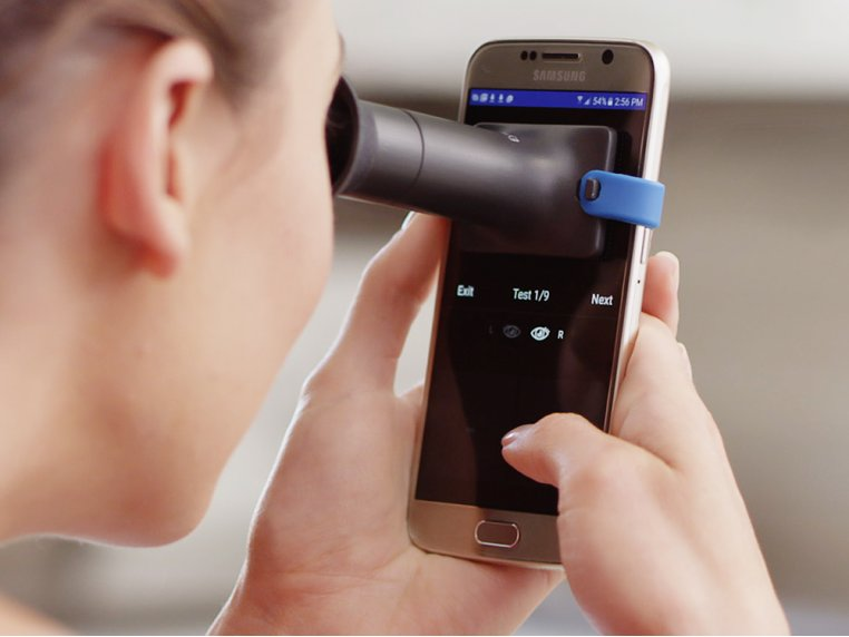 At-Home Personal Vision Test Device by EyeQue - 1