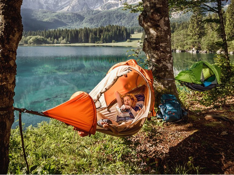 4-in-1 Hammock Tent by flying tent® - 1