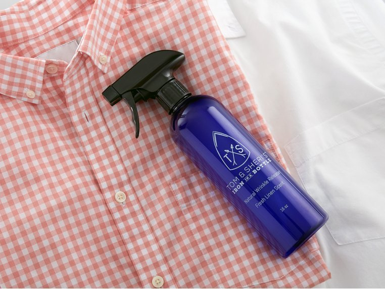 Plant-Based Wrinkle Releaser Spray by Tom & Sheri's Iron in a Bottle - 1